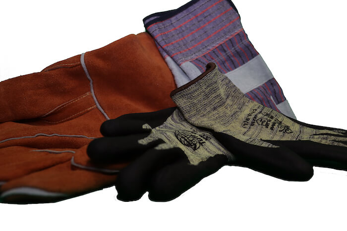 gloves for people to see on the equipment service page