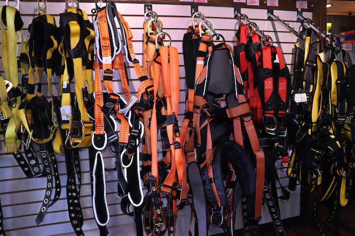Harness photo for the equipment service page