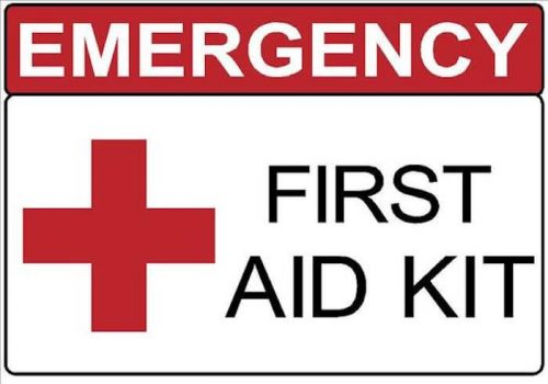 First Aid Signage example